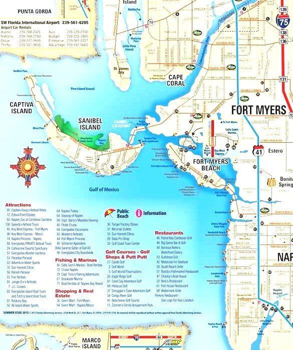 Fort Myers On Florida Map.Sanibel Florida Florida Map Sanibel Island