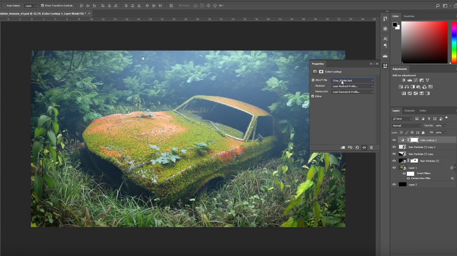 Create Realistic Nature in Blender using Graswald add-on
