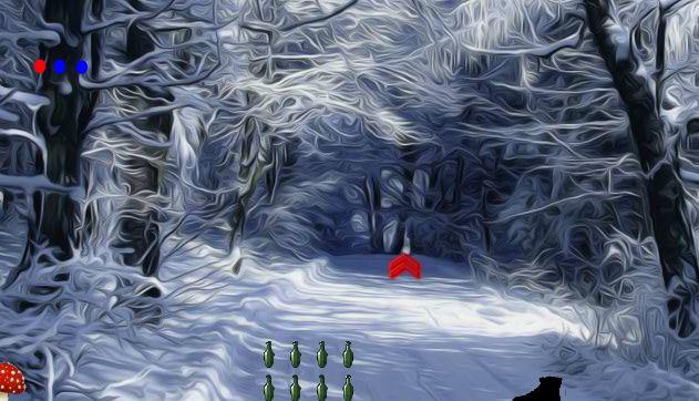 Funescapegames Deep Winter Forest Fun Escape