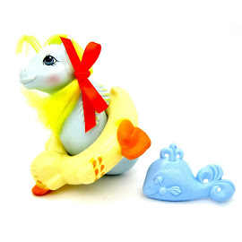 My Little Pony Tiny Bubbles Year Five UK Pretty and Pearly Baby Sea Ponies G1 Pony