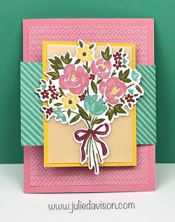 10 February 2021 Paper Pumpkin: Bouquet of Hope Alternative Projects + VIDEO ~ www.juliedavison.com #paperpumpkin #stampinup
