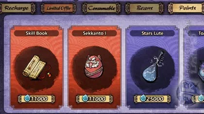 Yokai: Spirits Hunt Buy Sekkanto I with Yokia Points