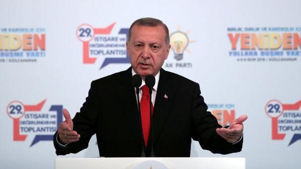 Erdogan confirma que EE.UU. retira sus tropas del norte de Siria