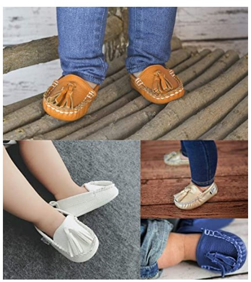 ENERCAKE Baby Shoes Soft Sole Moccasins