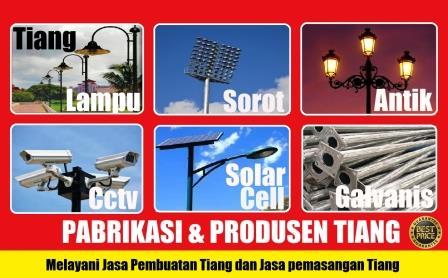 Pabrik tiang pju, produsen tiang listrik besi, jasa pembuatan tiang listrik, produsen tiang telepon, produsen tiang lampu antik, distributor tiang pju, pabrik tiang lampu jalan