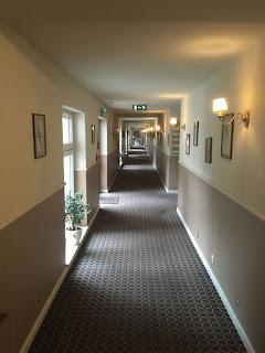 Hotel Afrodyta w Radziejowicach, korytarz