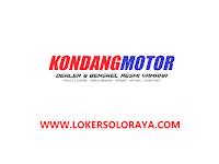 Lowongan Kerja Solo Raya di Yamaha Kondang Motor April 2021