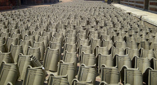 Harga genteng keramik murah