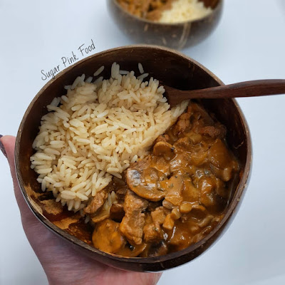 Creamy Beef Stroganoff recipe healthy slimming world