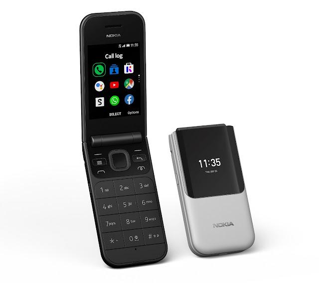 Nokia 2720 Flip and Nokia 800 Tough - Feature phones with: gyan Nepal