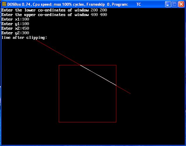 liang barsky algorithm,liang barsky line clipping algorithm,liang barsky algorithm in computer graphics,liang barsky line clipping algorithm in computer graphics