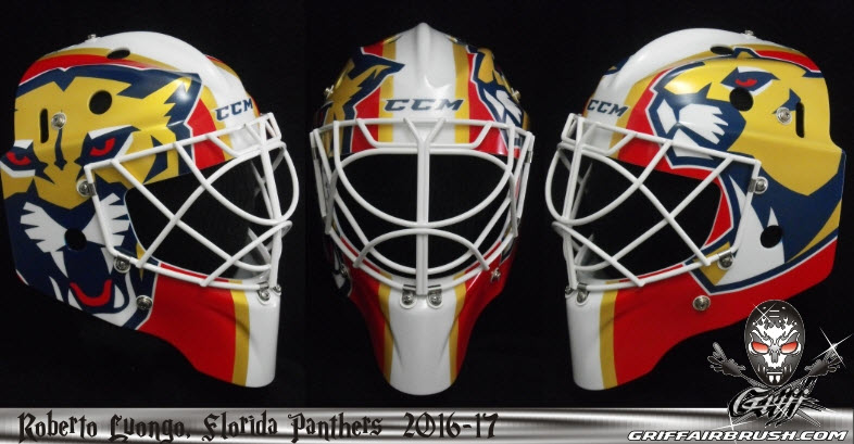I Love Goalies Roberto Luongo 2016 17 Mask