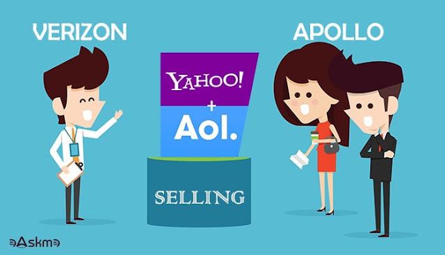 Verizon selling Yahoo and AOL for $5 Billion to Apollo: eAskme