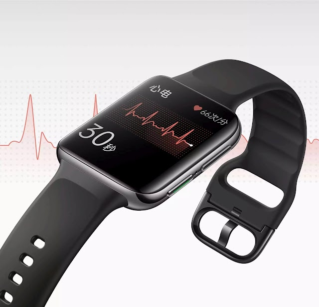 Oppo Watch 2 ECG Leaked in Photos