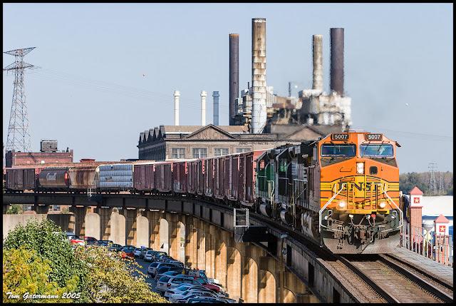 BNSF 5007 - TRRA Highline Bridge - Merchants Subdivision