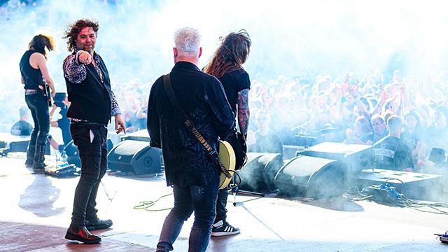 Tygers Of Pan Tang - Rock Hard festival 2019