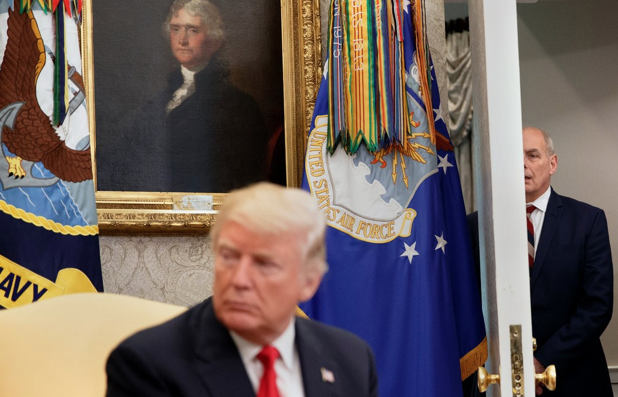 'Drama, Action, Emotional Power': As Exhausted Aides Eye the Exits, Trump Is Re-Energized
