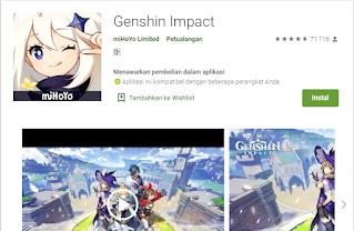 Genshin Impact Android Seloki