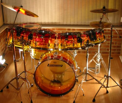 the drum roll ludwig 39 s vistalite history. Black Bedroom Furniture Sets. Home Design Ideas
