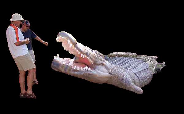 تمساح أعلى 10 خطير