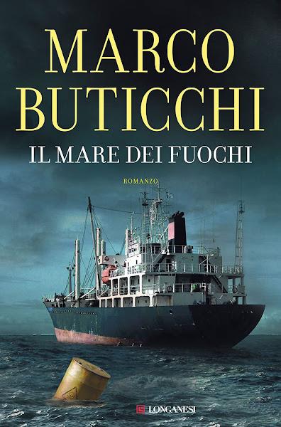 La copertina del libro Il mare dei fuochi di Marco Buticchi
