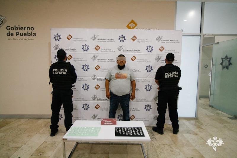 """Capturan a líder de """"Los Ferrer"""" banda dedicada al robo de transporte de carga en Puebla"""