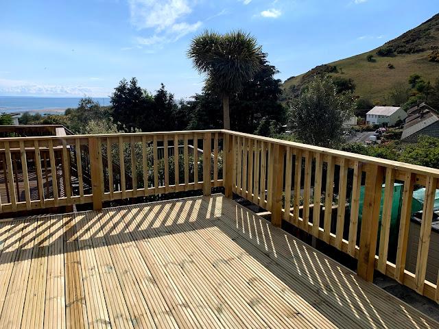 Timber decking Aberdyfi