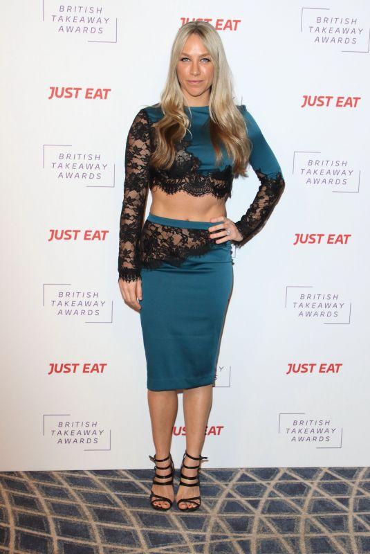 Chloe Madeley Clicks at British Takeaway Awards in London 27 Jan-2020