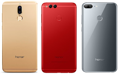 Honor 9i vs Honor 7X vs Honor 9 Lite