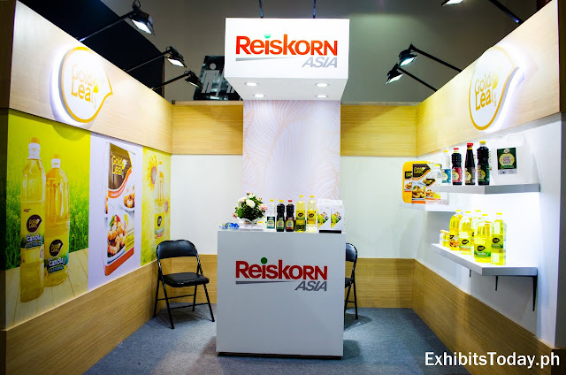 Reiskorn Exhibit Booth