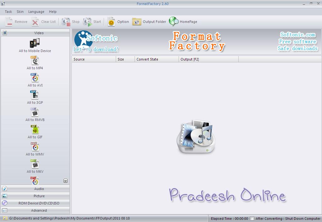 Pradeesh Online
