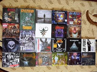CD-urile si DVD-urile pe care le-am adaugat la colectie in 2018