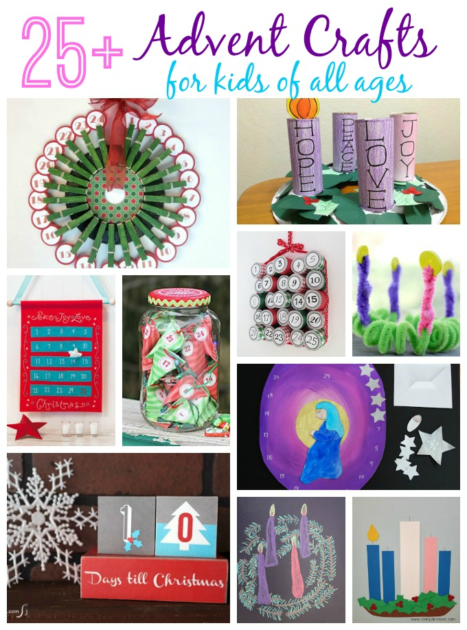 advent craft ideas derosier my creative the ups 1025