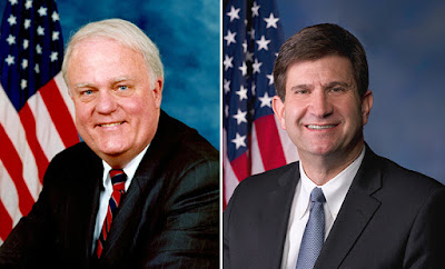 Congressmen Sensenbrenner (left) and Schneider (right) have recently held model town hall meetings