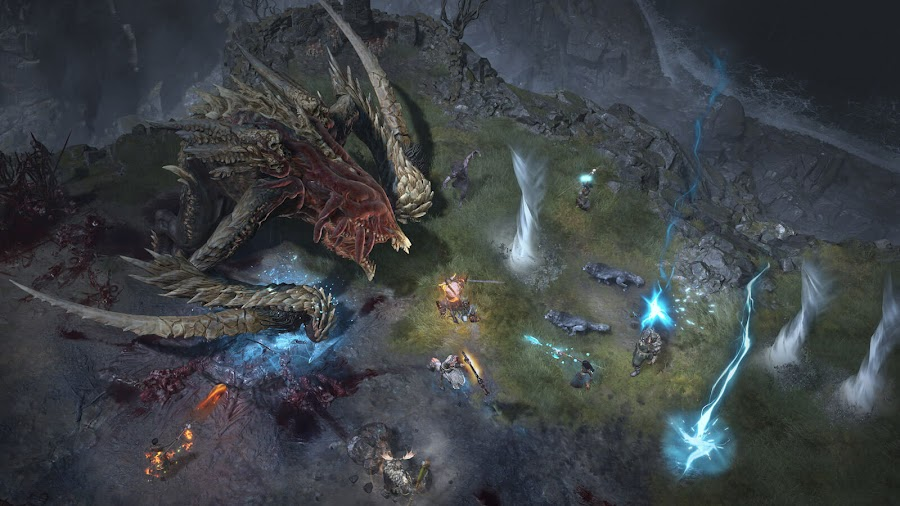 diablo 4 first multiplayer world boss ashava blizzard entertainment blizzcon 2019 pc ps4 xb1 arpg