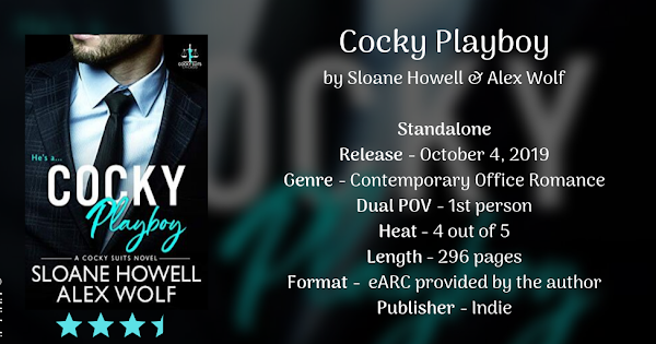 COCKY PLAYBOY by Sloane Howell & Alex Wolf