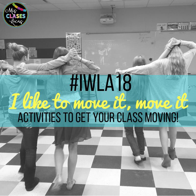 IWLA18 - Movement in Spanish Class