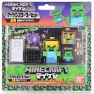 Minecraft Zombie Mine-Keshi Starter Pack Figure