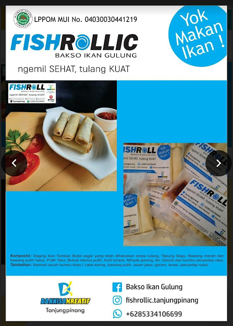 fishroll bakso ikan produk umkm