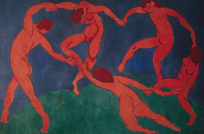 """Henry Matisse (1869-1954), """"La Danse"""" (1909~1910), pintura do acervo do State Hermitage Museum, em São Petesburgo, Rússia."""