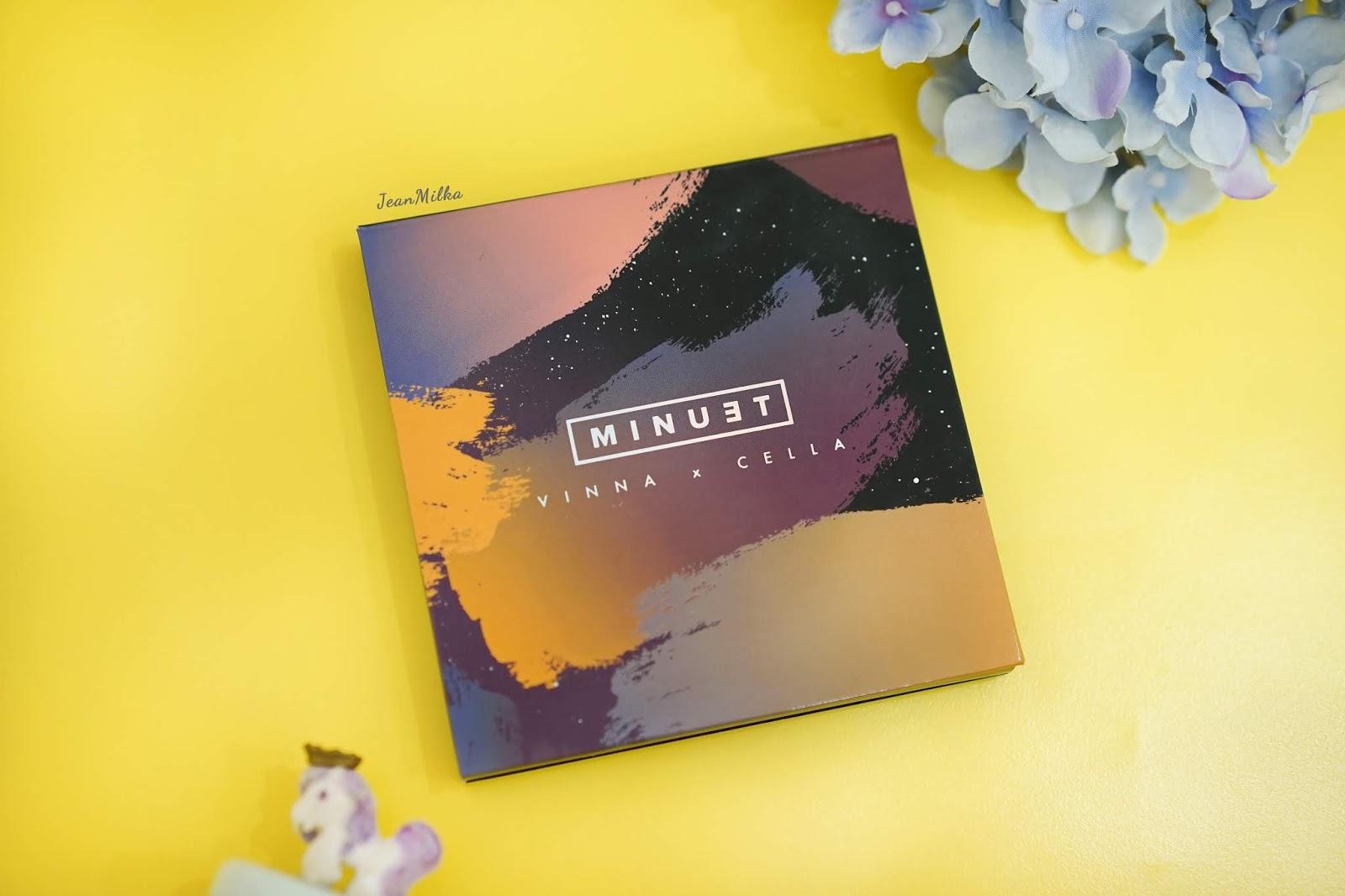 minuet, minuet palette, vinna gracia, cindercella, makeup indonesia, makeup product, review, review minuet palette