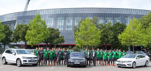 El Werder Bremen renueva con Volkswagen