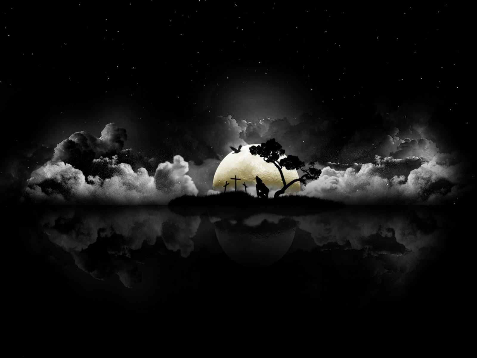 halloween moon wallpaper - photo #32
