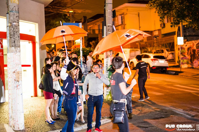 Pub Crawl São Paulo andando e conhecendo a Vila Madalena