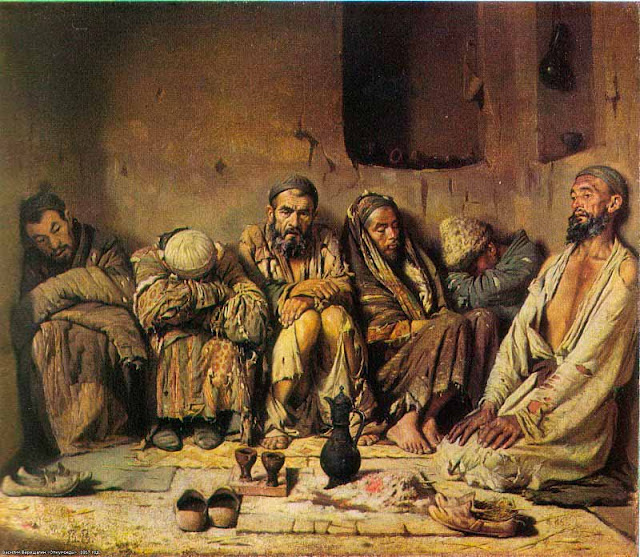 Василий Васильевич Верещагин - Курильщики опиума (опиумоеды). 1868