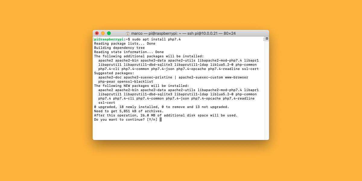 Come aggiornare a PHP 7