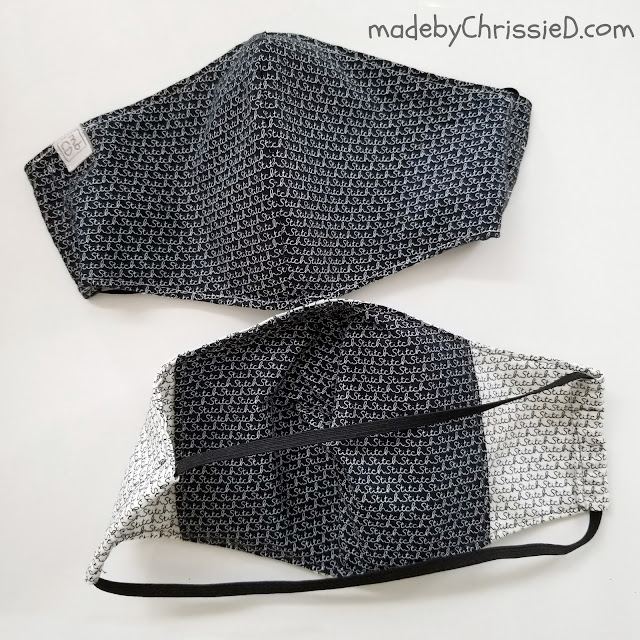 Home-Sewn Face Masks by www.madebyChrissieD.com