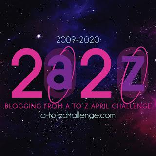 #AtoZChallenge 2020 - Theme Reveal