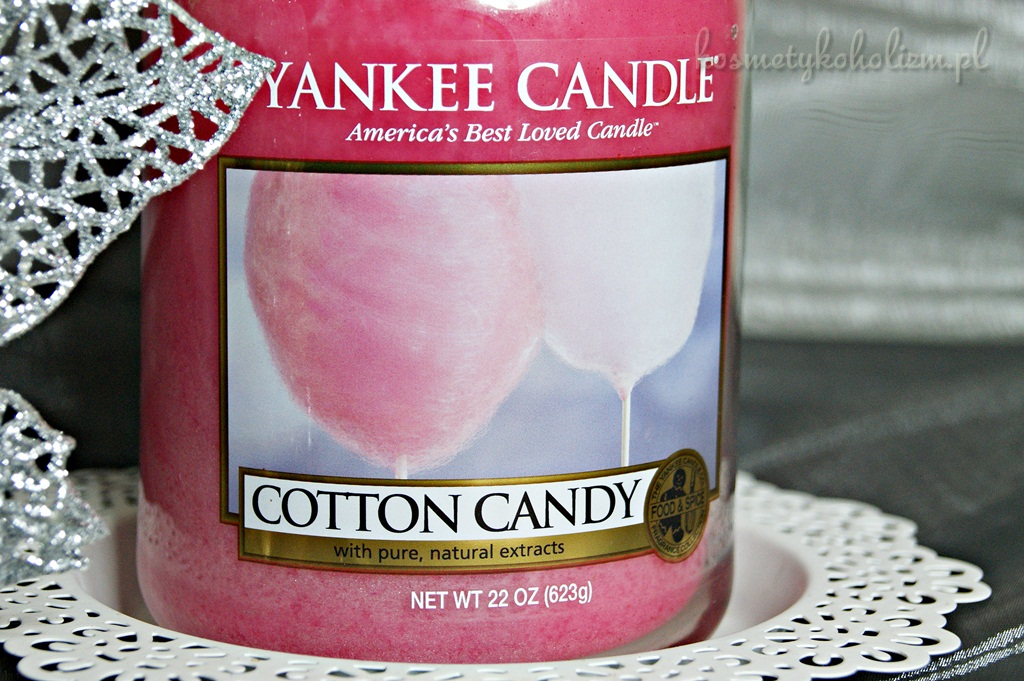 Yankee Candle | Cotton Candy | Świecowa Niedziela