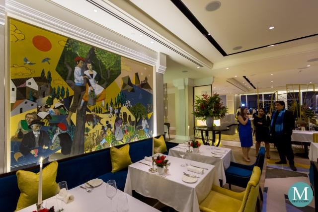 Mireio Restaurant Raffles Fairmont Makati
